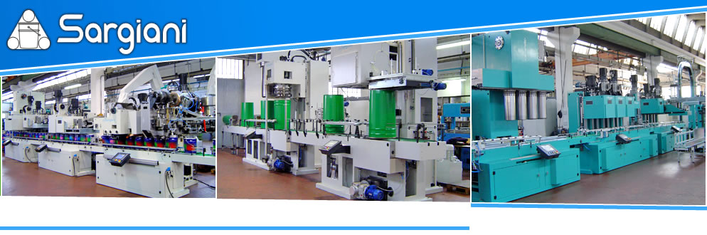 Sargiani S.r.l. - Automatic machine and plants for metal can manufacturing